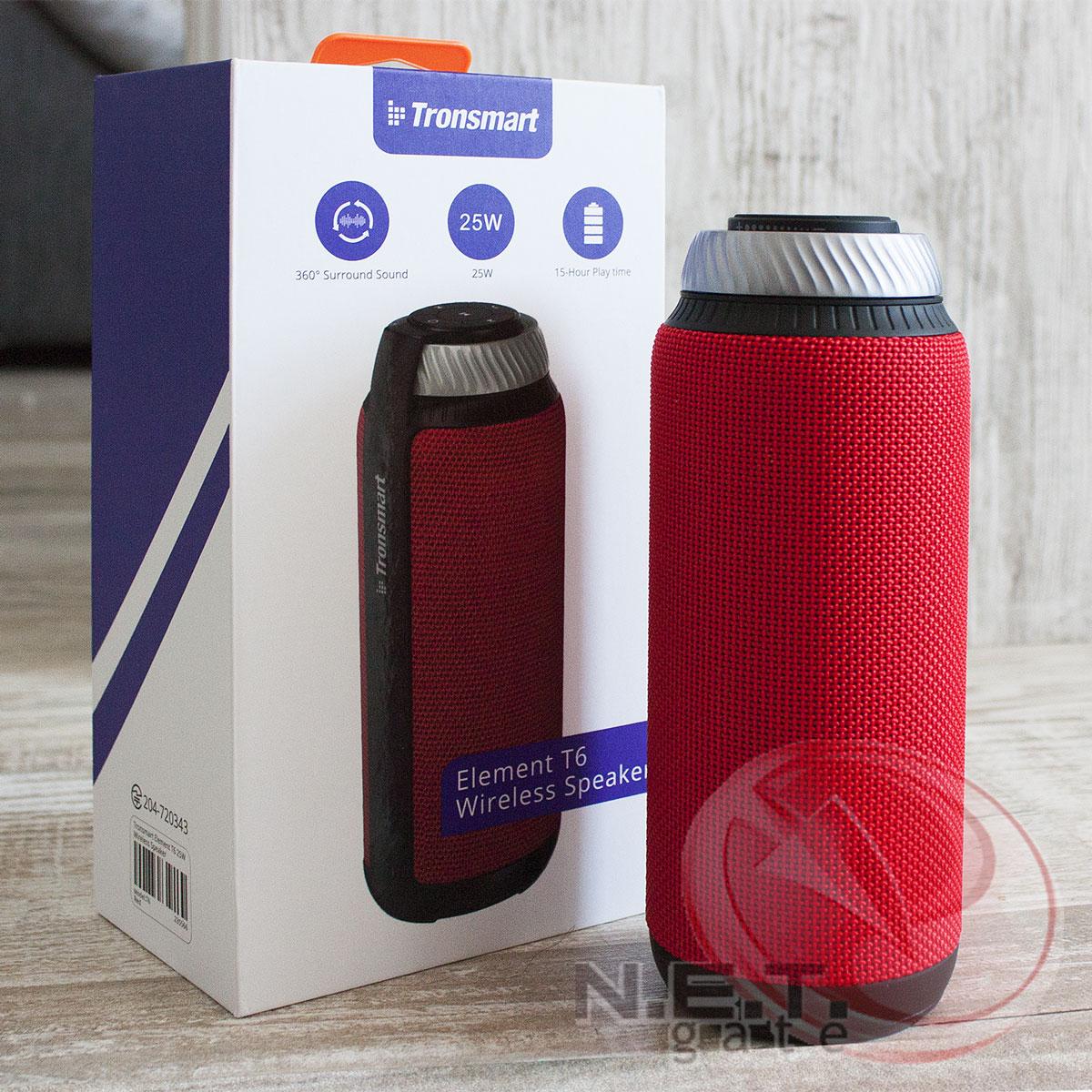 Tronsmart T6 Red упаковка