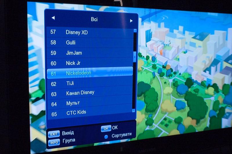 Список каналов Т2 приставки T2BOX-334iD