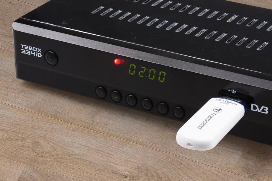 Подключение USB флешки с плейлистом