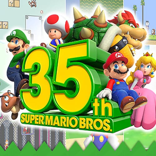 35-летие Mario Bros