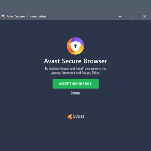 Веб-браузер Avast Secure Browser