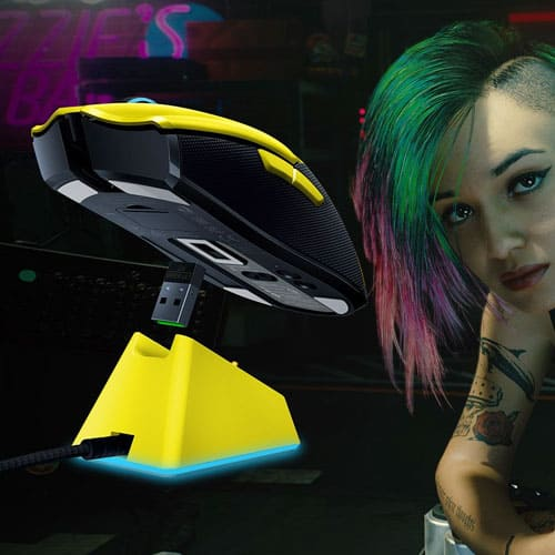 Мышь Razer Viper Ultimate Cyberpunk 2077 Edition