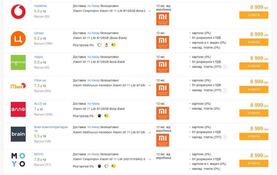 Акция на Xiaomi Mi 11 Lite