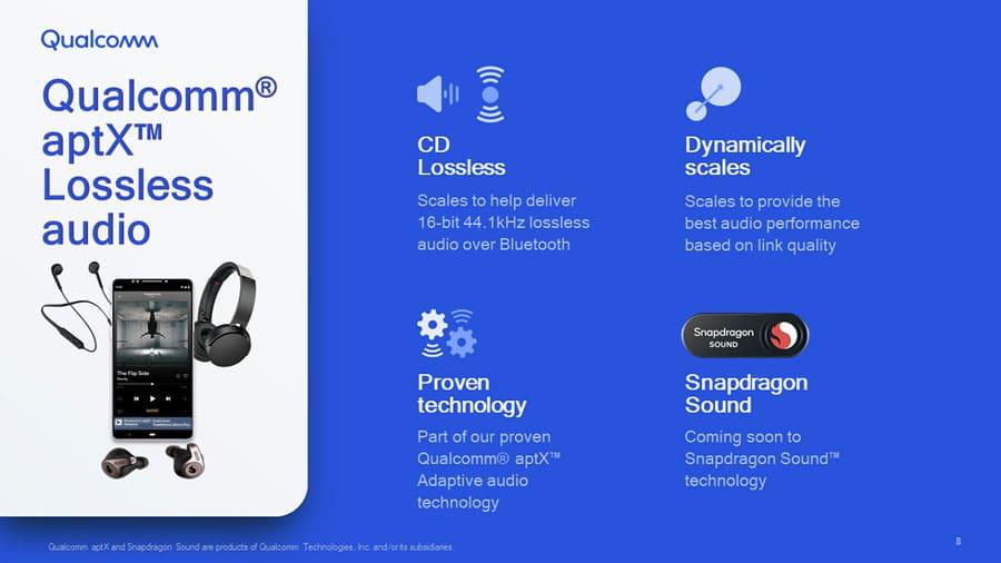 Технология Qualcomm aptX Lossless